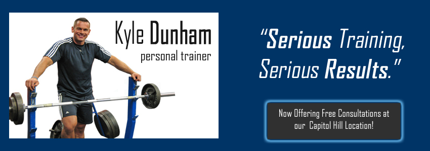 Seattle Personal Trainer - Kyle Dunham